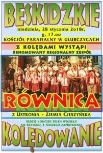 plakat koncert Głubczyce 2018